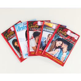 10 Liebesromane in 5 Doppelbänden