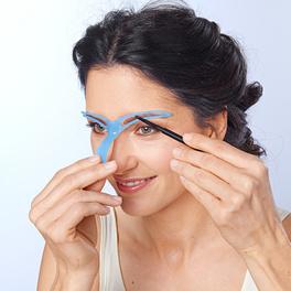Augenbrauen-Schablone