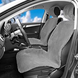 Autositzbezüge grau, 2er-Set