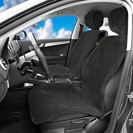 Autositzbezüge schwarz, 2er-Set