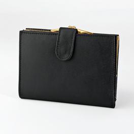 Damen-Geldbörse schwarz