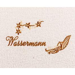 """Duschtuch """"Wassermann"""""""