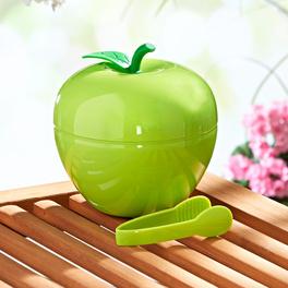 "Eiswürfel-Behälter ""Apfel"" grün"