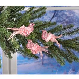 Federvögelchen rosé, 4er-Set