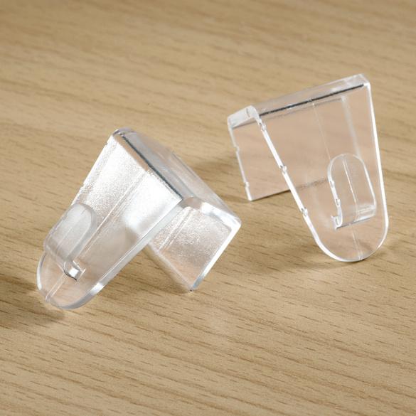 Fenster-Clips transp., 2er-Set