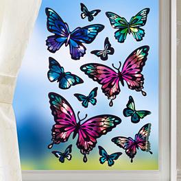 """Fensterbilder """"Schmetterlinge"""", 12-tlg."""