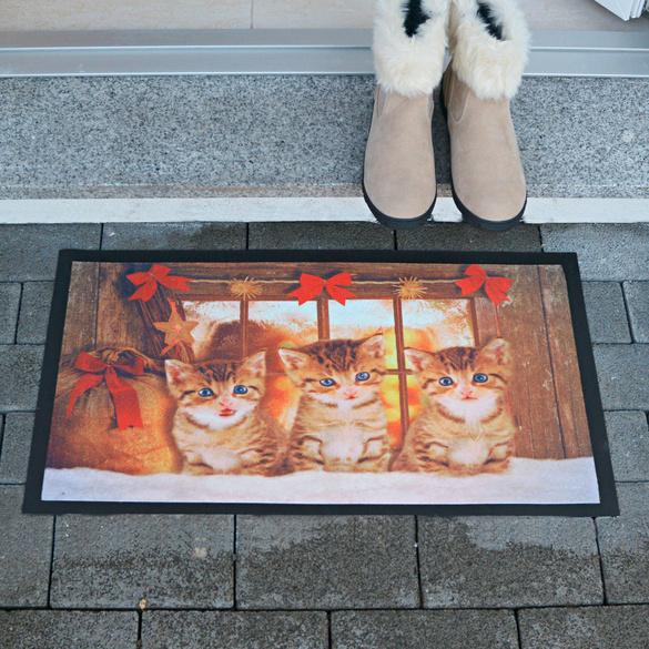 """Fußmatte """"Katzenkinder"""""""