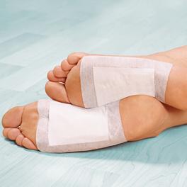 Fußsohlen-Pflaster, 10er-Set