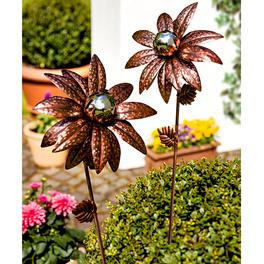 """Gartenstecker """"Bronzeblüte"""""""