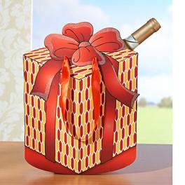 """Geschenktasche """"Päckchen"""""""