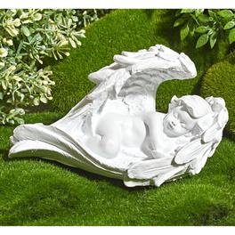 Grabengel im Flügelbett