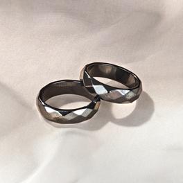 Hämatit-Ring, 18 mm