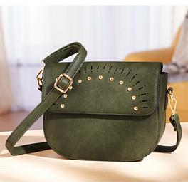 Handtasche tannengrün