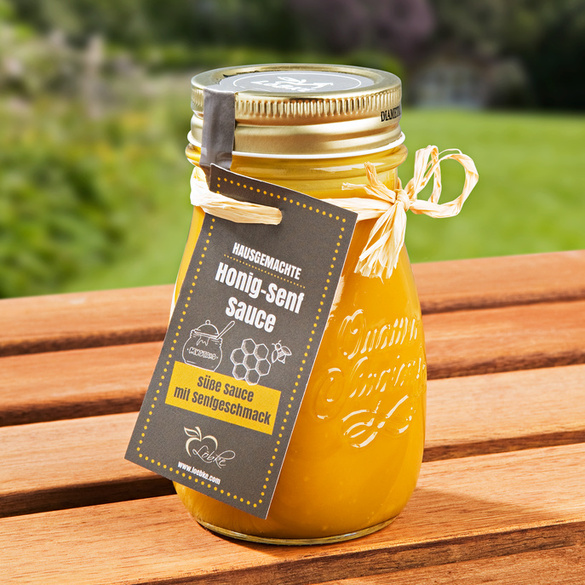Honig-Senf-Sauce