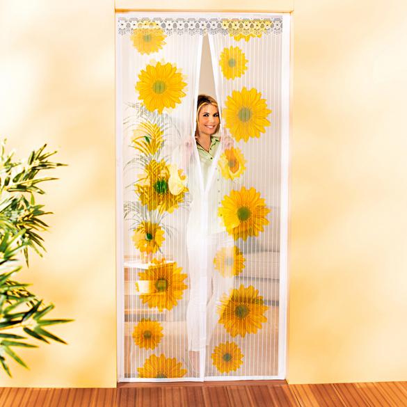 """Insektenvorhang mit Magnet """"Sonnenblumen"""""""
