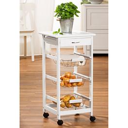 Küchen-Trolley weiß