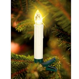 Kabellose LED-Kerzen creme, 15er-Set
