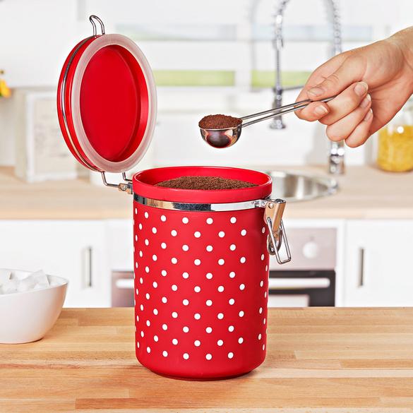 Kaffeedose rot-weiß - 3PAGEN