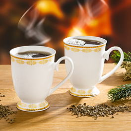 "Kaffeetasse ""Ornamente"""