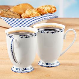 "Kaffeetasse ""Zwiebelmuster"""