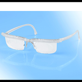 Korrektionsbrille transparent