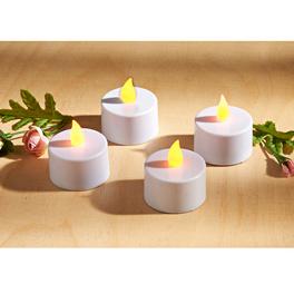 LED-Teelichter, 4er-Set