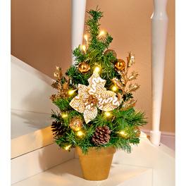 LED-Weihnachtsbaum gold