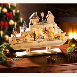 LED-Weihnachtsschiff