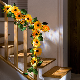 "Leuchtgirlande ""Sonnenblumen"""