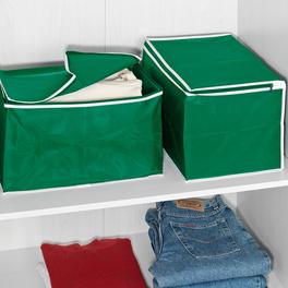 Ordungsboxen 2er-Set grün