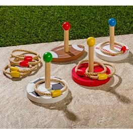 Ring-Wurfspiel, 12 Teile