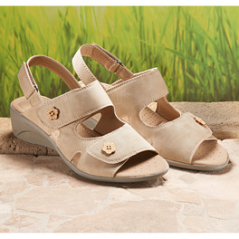 "Sandalette ""Clara"" beige"