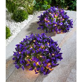 Solar-Blumenkugeln, 2er-Set