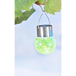 """Solar-Hängeleuchte """"Mosaik"""", grün"""