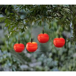 """Solar-Hängeleuchten """"Apfel"""", 2er-Set"""
