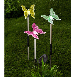 Solar-Schmetterlinge