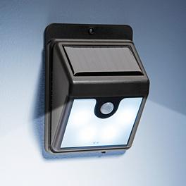 Solar-Wandleuchte mit Bewegungssensor