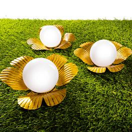 """Solarleuchte """"Goldblüte"""""""