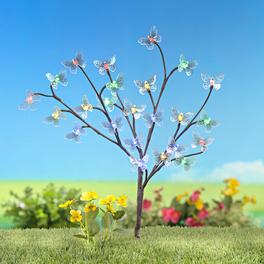 """Solarleuchte """"Schmetterlingsbaum"""""""