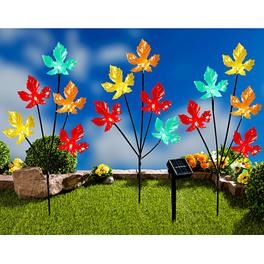 """Solarleuchten """"Herbstblätter"""", 3er-Set"""