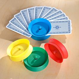 Spielkartenhalter, 4er-Set