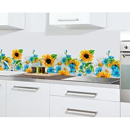 """Spritzschutz """"Sonnenblumen"""""""