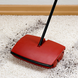Teppichkehrer rot