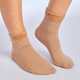 Thermo-Socken haut + schwarz, 2 Paar