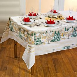 Tischdecke gold 140 x 230 cm