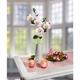 """Tischläufer """"Arabeske"""" rosé, 40 x 140 cm"""