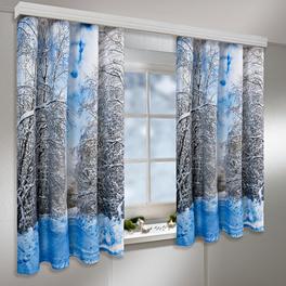"""Vorhang """"Winter"""", 140 x 140 cm"""