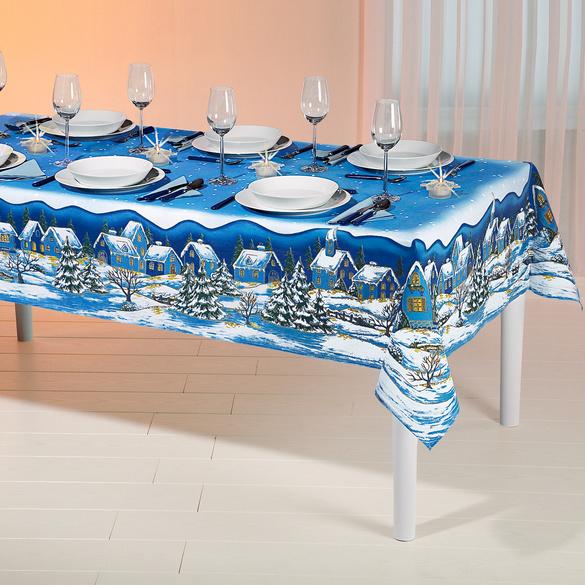 Weihnachts-Tischdecke, 140 x 230 cm