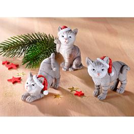 Weihnachtskätzchen, 3er-Set