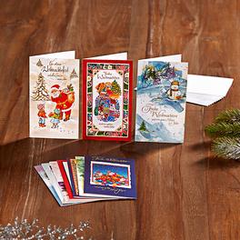 Weihnachtskarten, 20-tlg. Set